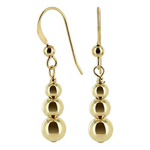 gem avenue earrings gold - 4