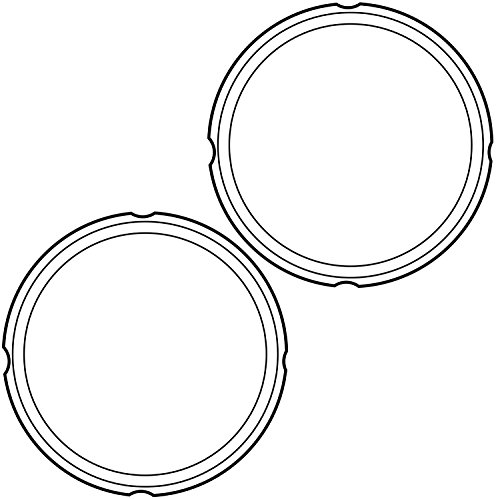 Large Product Image of Genuine Instant Pot Sealing Ring 2 Pack Clear – 8 Quart