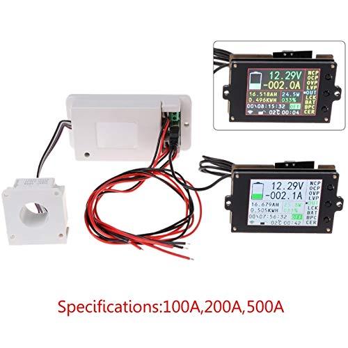 (500v - Dc 500v 100a 200a 500a Wireless Voltmeter Ammeter Coulometer Battery Power Meter - Test Voltage Meters Voltage Meters Analog Voltmeter Ammeter Wireless Boost Current Shunt Electricity)