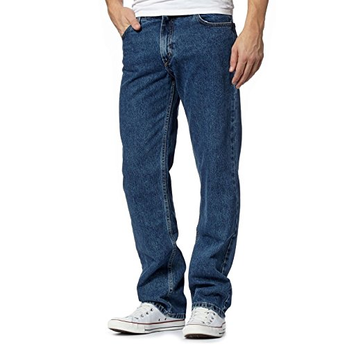 Blue Uomo Straigth Myshoestore Dark Jeans TP1FqI