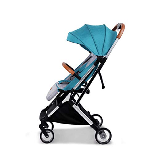 HKJCC Baby Stroller Lightweight Folding Simple One Button Umbrella Car Lever Type High Landscape Can Sit on The Plane with Shock Absorber