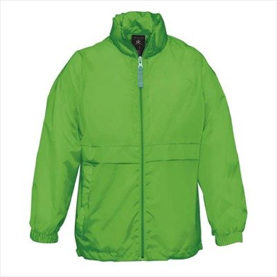 B&C - Windbreaker für Kinder 'Sirocco Kids' 9/11 (134/146),Real Green