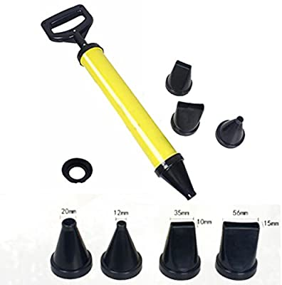 Mortar Pointing Grouting Gun Sprayer Applicator Tool for Cement lime 4 Nozzle