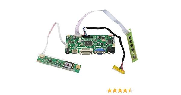 LCD LED Controller driver Board Kit for B154EW01 V.1 V1  HDMI+DVI+VGA+Audio