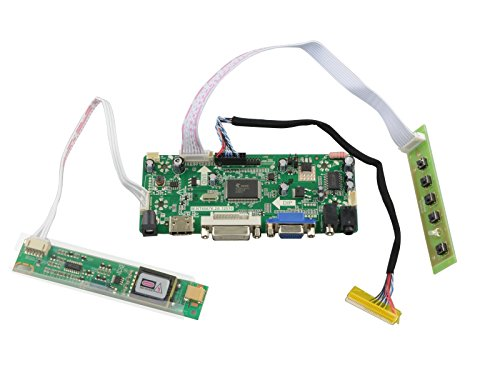 (NJYTouch M.NT68676.2A HDMI DVI VGA Audio LCD Controller Board for LTN160AT01 LTN160AT01-001 LTN160AT02 1366x768)