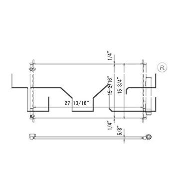 TYC 4307 Acura RLX Replacement Condenser