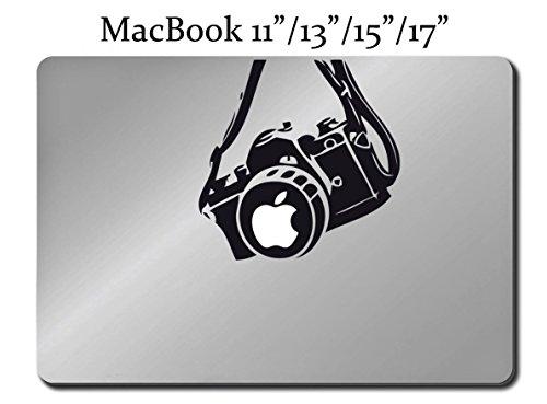 CAMERA Photography Decal LAPTOP MACBOOK Mac Pro Air Sticker 15