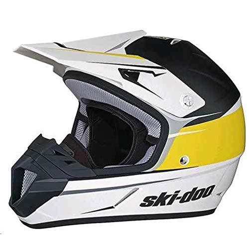 SKI-DOO XC-4 Cross Drift Helmet (YELLOW) (X-LARGE)