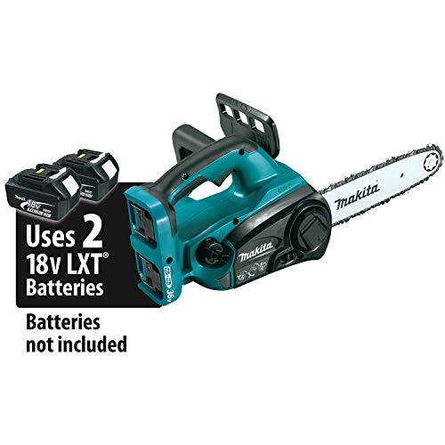 MAKITA XCU02Z 18V X2 (36V) LXT Lithium-Ion Cordless 12in Chain Saw, Tool Only (Renewed) (Makita Gas Chainsaw)