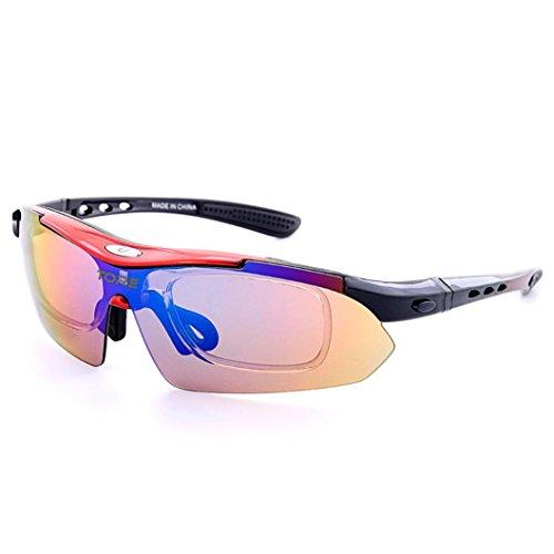 Nikuya Polarized Cycling Glasses Eyewear Bike Goggles Fishing Sunglasses - Sunglasses Prescription Inexpensive