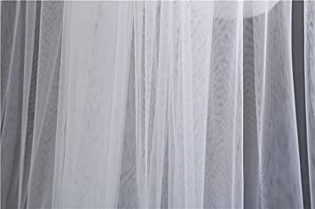 Butterme 1 Niveaux de Voile de Mariage Nuptiale Longue Coupe avec Peigne