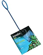 Marina 5-Inch Blue Fine Nylon Net with 10-Inch Handle