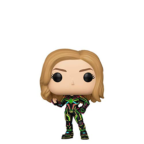 Funko Pop! Marvel: Captain Marvel - Captain Marvel with Neon Suit -
