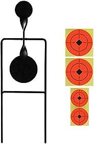 GUGULUZA Resetting Target Shooting Resetting Target for Air Gun Paintball Practice Training