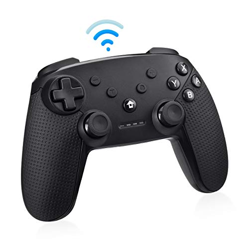 Powerextra Wireless Controller for Nintendo Switch – Wireless Controller for Switch Pro Controller with Dualshock…