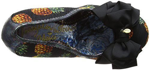 Nero Choice Scarpe col Ascot Punta Brown Chiusa Donna Black Irregular Tacco SfwFCxwq