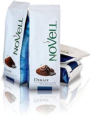 Cafes Novell Café Descafeinado Molido - 4 Paquetes de 250g: Amazon ...
