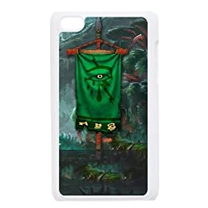 iPod Touch 4 Case White Bleeding Hollow Clan 002 YE3436064