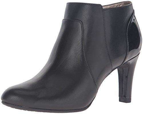 Bandolino Women's Liron Ankle Bootie, Black, 9.5 M ()