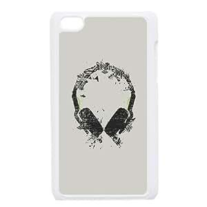 Art Headphones V2 iPod Touch 4 Case White HX4466968