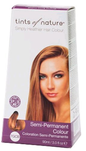 Price comparison product image Semi-Permanent Hair Colour- GCB Golden Copper Blonde 3 Ounces by Tints of Nature [parallel import goods]