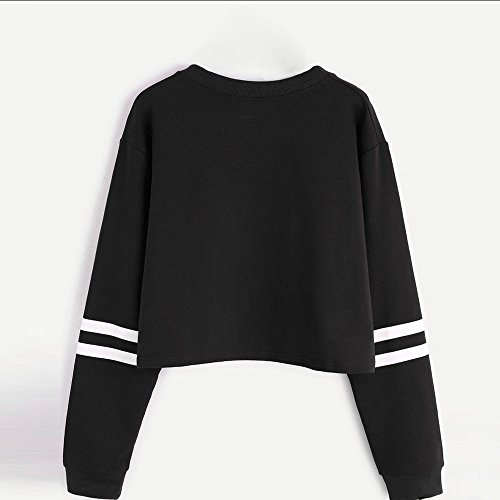 Clearance Women Pullover Cinsanong Long Sleeve Tops Blouse Casual Letter Print Round Neck Fashion Sweatshirt at Amazon Womens Clothing store:
