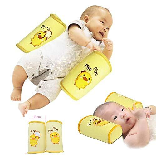 Baby Sleeper Pillow Sleep Positioner-YiGooood Crib Bumper Nursing Pillow Anti-Rollover Memory Foam Cute Cartoon Anti-roll Sleeper Pillow Sleep Positioner Insurance