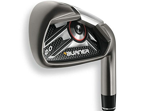 TaylorMade Burner 2.0 Iron Set 5-PW GW TM Superfast 65 Graphite Senior Left Handed 38.75 in - Taylormade Burner Senior