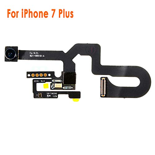 Johncase New OEM 7MP Front Facing Camera Module w/Proximity Sensor + Microphone Flex Cable Replacement Part Compatible iPhone 7 Plus 5.5