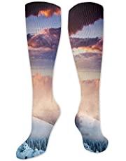 Funny Compression Socks Women and Men,Best for Circulation,Running,Athletic,Nurse,Travel