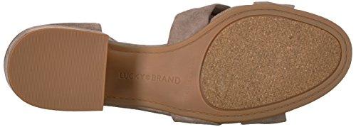 Lucky Brand Heeled Sandal Xaylah Women's Brindle rrfCOq1wBd