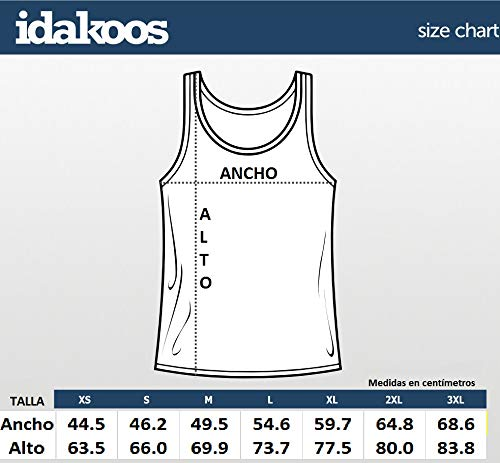 Idakoos Track and Field Only for The Brave Tank Top