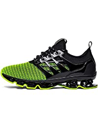 Mens Casual Walking Shoes Blade Sport Sneakers Breathable Mesh Trail Running Shoe