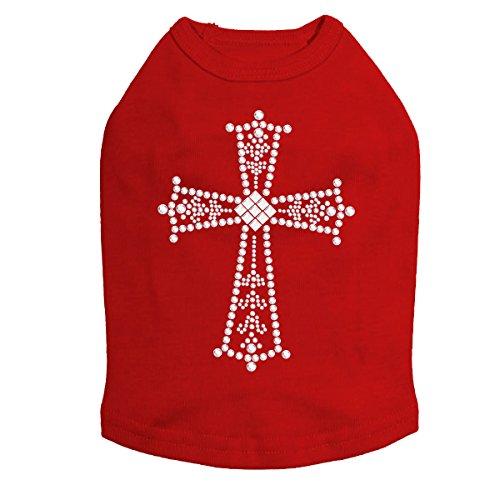 Cross (Silver) - Dog Shirt
