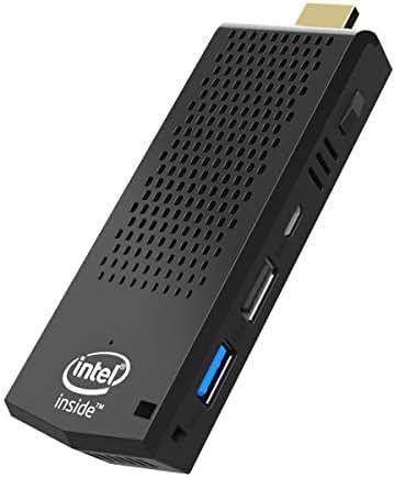 Mini PC Stick,Windows 10 Pro(64-bit) Intel Atom Z8350 Fanless Mini Computer 2GB DDR 32GB eMMC Support 4K HD,2.4G/5G WiFi,Gigabit Ethernet,BT 4.2