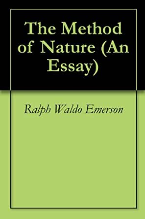 The influence in ralph waldo emersons nature of writing