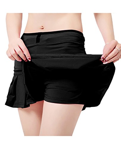 Skirt Sports - Women's Running Skorts Casual Gym Tennis Skort with Shorts inner