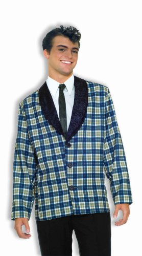 F61696 50s Plaid Sport Coat - 50s Coat