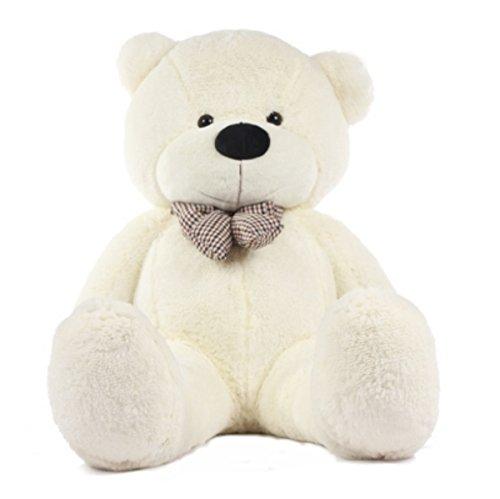 Stuffed Animal Teddy Bear Plush Soft Toy 100CM Huge Soft Toy White - 5