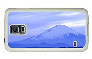 Hipster Samsung Galaxy S5 Case case mate mount fuji japan PC White for Samsung S5