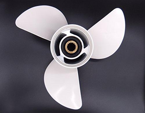 New Aluminum Propeller 13x19-K for Yamaha 50HP 60HP 70HP ...