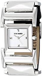 Steve Madden Women's SMW00059-01 Analog Display Quartz Black Watch