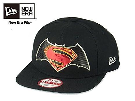 f7fc4dd8c1f (ニューエラ) NEWERA 9FIFTY BATMAN VS SUPERMAN TITLE CHROME バットマン VS スーパーマン  タイトルクローム