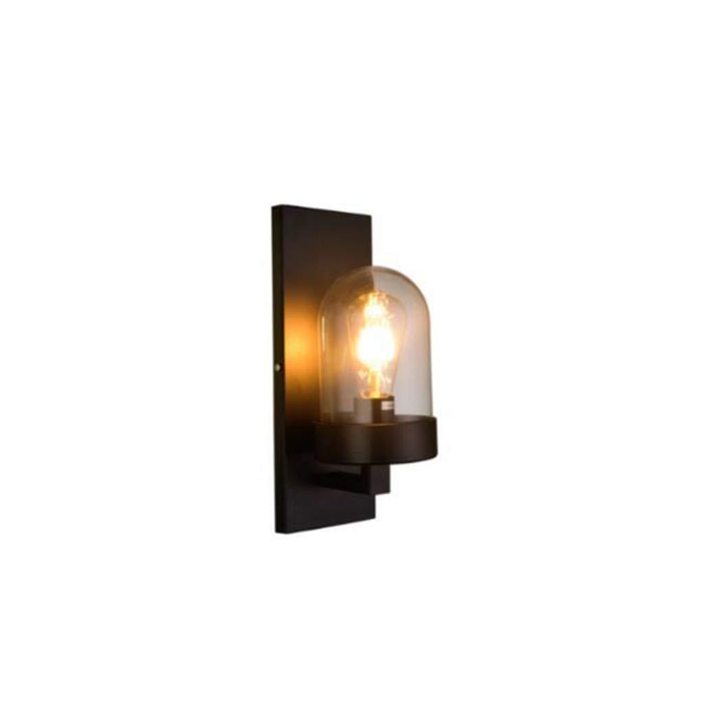 Vintage Wandleuchte Industrie Stil Eisen Kunst Wohnzimmer Esszimmer Schlafzimmer Nachttischlampe Außenbeleuchtung (stil   2)