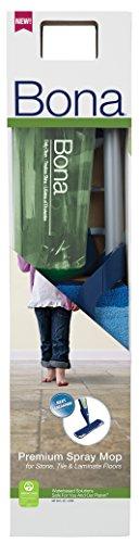 Bona WM710013498 Premium Stone, Tile, Laminate Spray Mop w/Cleaner
