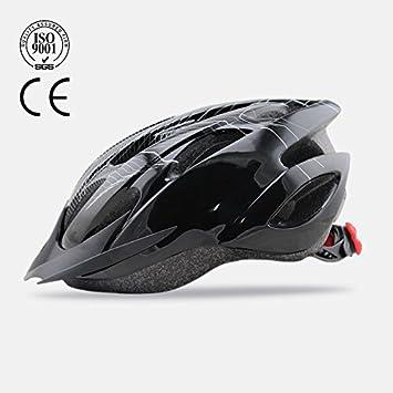 Cascos de bicicleta en una luz casco cascos de seguridad cascos de equitación , Negro ,