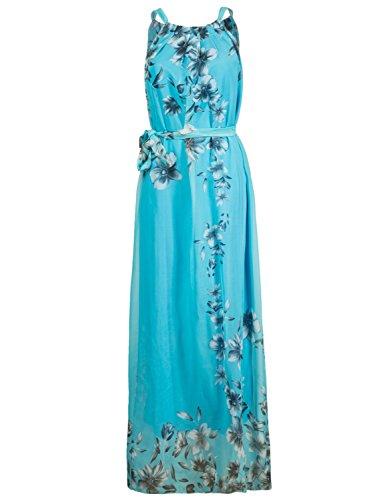 light blue plus size maxi dress - 7