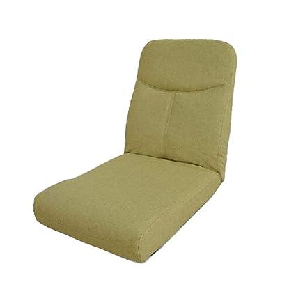 Sofá perezoso Silla Plegable para el Piso, sofá Simple y ...