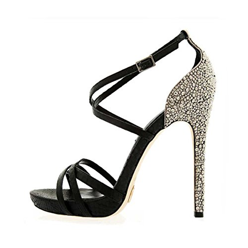 Janiko POSH JK210 Femmes Sandales Noir