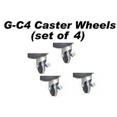 Caster Wheel with Break Lock (Set of 4) by Stoneman